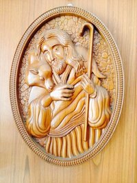 Wall Hanging Wood Carving Frames