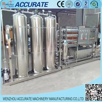 Industrial Usage Media Model Drinking Water Filtrating Machine