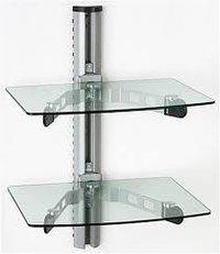 Wall Mount Corner Glass Rack