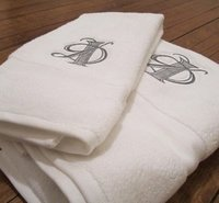 Embroidered Logo Towels