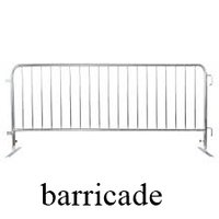 Road Side Barricades
