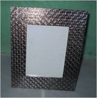 Wood Fitted Metal Photo Frame