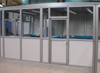 Durable Aluminium Partitions