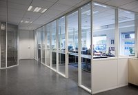 Industrial Aluminium Partitions