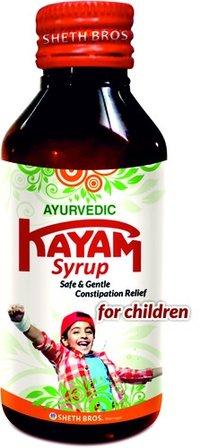Ayurvedic Kayam Syrup