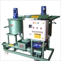 Grout Pump With Mixing Tank