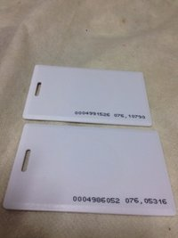 Clamshell Proximity Cards
