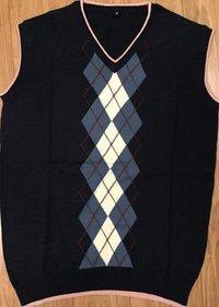 Cameo Printed Half Sweater