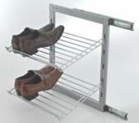 Side Mounting Shoe Rack