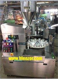 Rotary Lotion Jar Filling Machine
