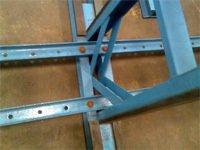 Modular Rack For Glass Handling