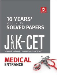 16 Years Solved Papers J&K Cet Medical Entrance Book