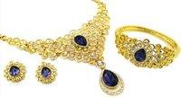 Purple Turkish Necklace Set