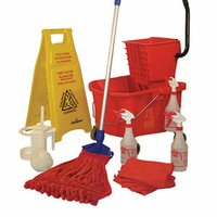 Wet Mops, Squeegees, And Buckets