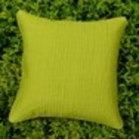 Quilted Cushion Cover- Lime Green