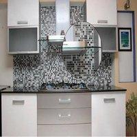 Glass Mosaic Kitchen Tiles