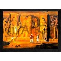 Ajanta Ellora Abstract Painting