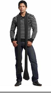 V Neck Flatknit Long Sleeves Pullover