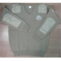 Police And Military Pure Wool Sweaters