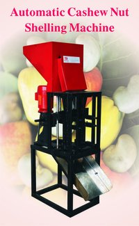 Automatic Raw Cashew Shelling Machine