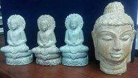 Antique Ston Lord Buddha Idols