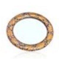Blue And Gold Designer Pocket Mirror