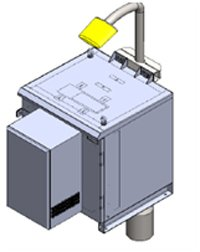 Pole Wall Mount Od Enclosure With Dc Aircon Active Cooling