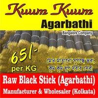 Raw Black Stick Agarbatti