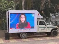 Van Mounted LED Display Screen for Advertisement and Events Promotions