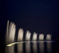 River Dancing Musical Fountain
