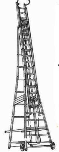 Alumnium Self Supporting Extension Ladder