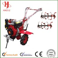 New Design Steering Micro Tillage Machine Tiller Cultivator
