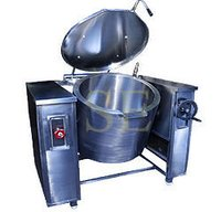 Steam Operated Tilting Boiling Pan