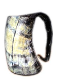 Antique Horn Mug