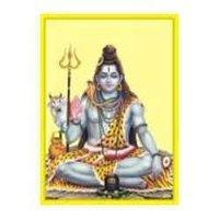Shiv Poster In Gold Foil 24k