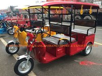 Double Seat Electric Three Wheeler