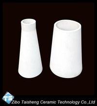 Alumina Ceramic Cone Shaoed Tube