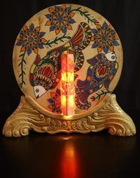 Pinewood Decorative Lamp