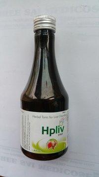Herbal Hpliv Syrup for Liver Disorder