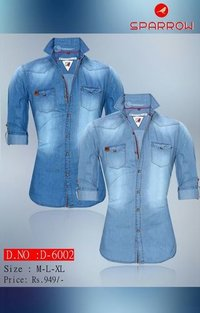 Designer Denim Shirt
