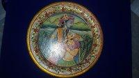 Radhe Krishna Marble Plate