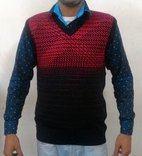 Sleeveless Men's Sweater