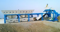 Concrete Batching Plant With Reversible Drum Type Mixer Rmb 30