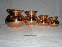 Pure Copper Pooja Lota