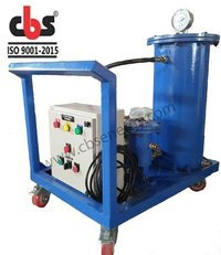 Filtration System for Solid Removal From Hydraulic Oil