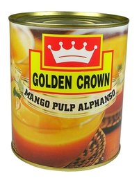 Canned Mango Pulp Alphanso Natural
