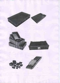 Conductive Moulded Esd Crates
