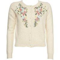 Ladies Embroidered Cardigan