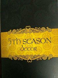 Fifth Season Decor Curtain Fabric