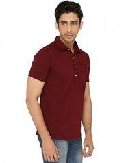 Maroon Stylish shirt